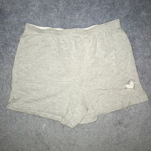 Grey Total Girl Soffe Shorts With Logo